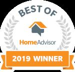 home advisor 2019 winner badge