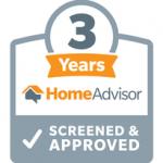home advisor 3 year badge