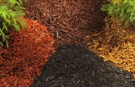 multi colored mulch